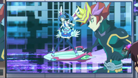 Ep006 Playmarker and Blue Angel start their Speed Duel