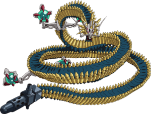 Beltlink Wall Dragon full view