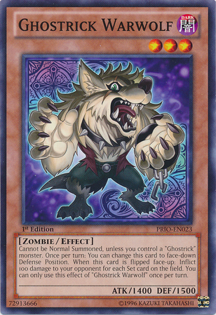 ghostrick warwolf yugioh fandom powered by wikia