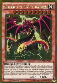 YuGiOh! TCG karta: Slifer the Sky Dragon