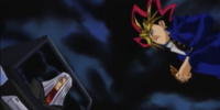 Yami Yugi and Maximillion Pegasus' TV Duel