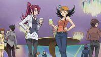 Akari and Tetsuko