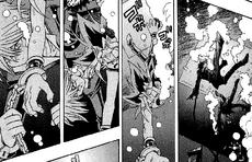 Yugi and Jonouchi pulled under