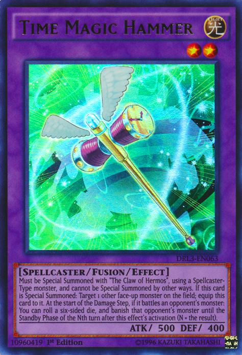 Time Magic Hammer Yu Gi Oh Fandom Powered By Wikia