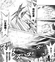 Galaxy-Eyes summoning sequence (manga)
