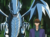Virtual Kaiba and Blue-Eyes White Dragon