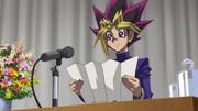 Yugi's graduation speech