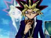DMx142 Yugi and Yami receive Ra