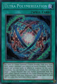 YuGiOh! TCG karta: Ultra Polymerization