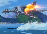 Blue-Eyes White Dragon jet