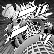Kaito explodes the tower