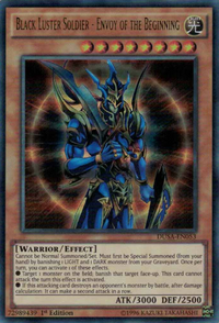 YuGiOh! TCG karta: Black Luster Soldier - Envoy of the Beginning