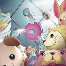 """Sora Shiun'in with """"Fluffal Lio"""" and """"Fluffal Bear""""."""