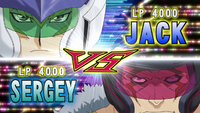 Jack VS Sergey