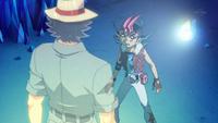 Kazuma's message to Yuma