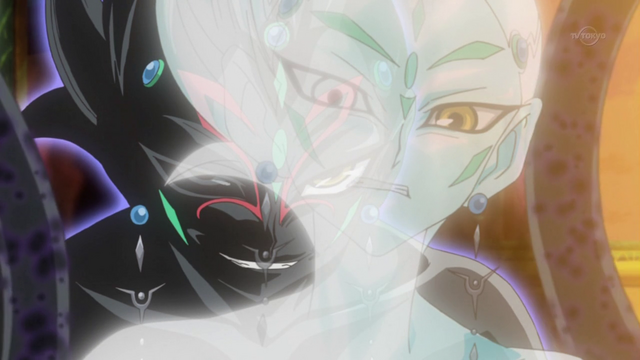 File:Astral tells Yuma to give Hope to Tetsuo.png