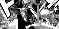 Dark Yugi and Insector Haga's Duel (manga)