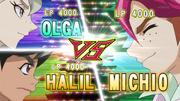 Olga and Halil VS Michio