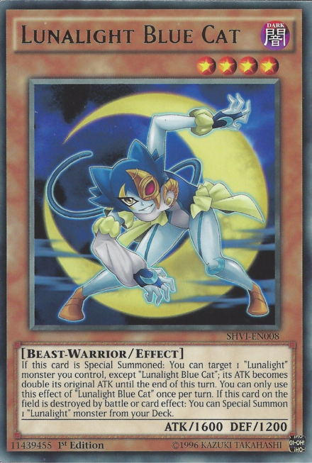 Lunalight Blue Cat Yu Gi Oh Fandom Powered By Wikia