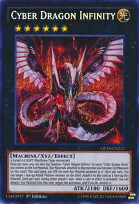 YuGiOh! TCG karta: Cyber Dragon Infinity