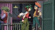 Yuya and Crow argue 2