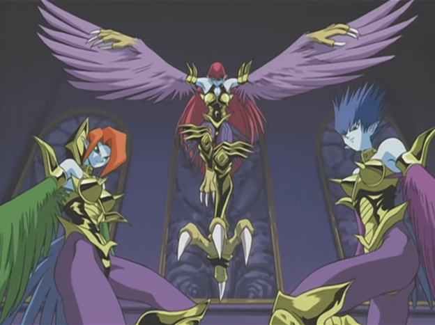 Harpie Lady Sisters Anime Yu Gi Oh FANDOM Powered