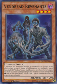 YuGiOh! TCG karta: Vendread Revenants