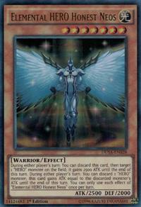 YuGiOh! TCG karta: Elemental HERO Honest Neos