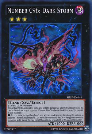Number C96: Dark Storm | Yu-Gi-Oh! | FANDOM powered by Wikia Number C Yugioh