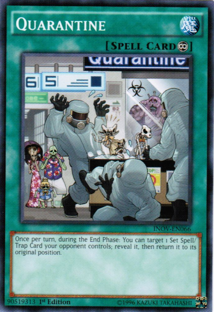Remarkable Quarantine Yu Gi Oh Fandom Powered By Wikia Birthday Cards Printable Opercafe Filternl