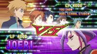 Yuri vs 5 students
