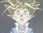 Yugi transforms into Yami Yugi.jpg
