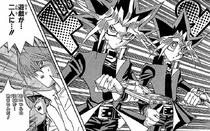 Yugis split for the Ceremonial Battle