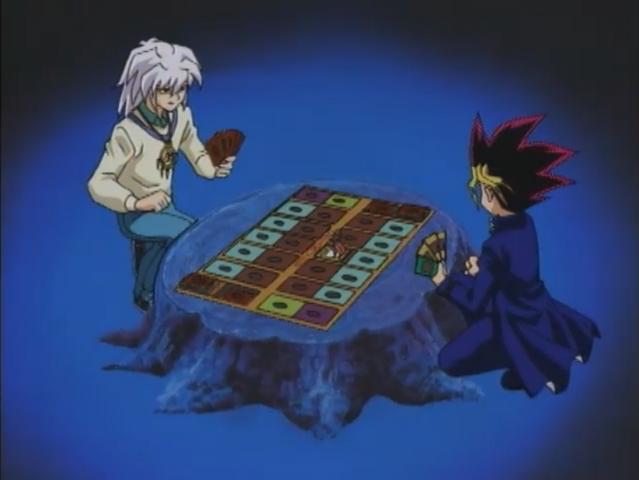 File:Dark Yugi VS Dark Bakura - Duelist Kingdom.png