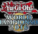 Yu-Gi-Oh! World Championship 2016 prize cards