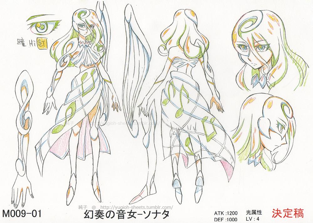 Yugioh Character Design : File sonatathemelodiousdiva jp anime av conceptart