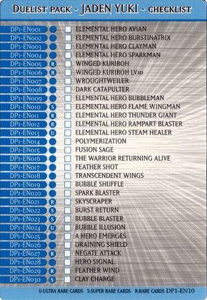 Checklist-DP1-EN