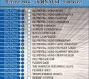 Duelist pack - JADEN YUKI - checklist