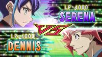 Serena VS Dennis