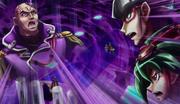Leo Akaba VS Declan and Yuya Sakaki