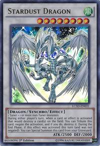 YuGiOh! TCG karta: Stardust Dragon