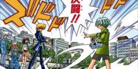 Katsuya Jonouchi and Insector Haga's Duel (manga)