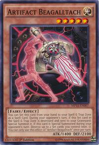 YuGiOh! TCG karta: Artifact Beagalltach