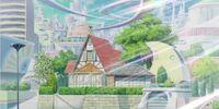 Yuma Tsukumo's house