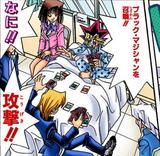 Yugi Mutou and Katsuya Jonouchi's hospital Duels