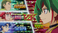 Yuya VS Allie Frederick & Tate