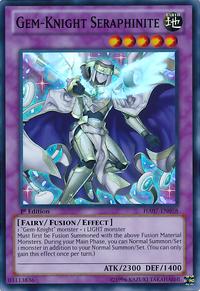 YuGiOh! TCG karta: Gem-Knight Seraphinite