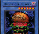 Hungriger Burger