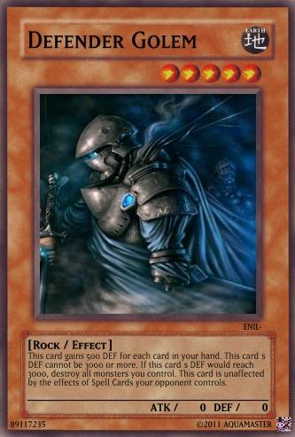 Defender Golem