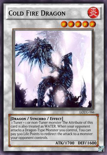 Cold Fire Dragon